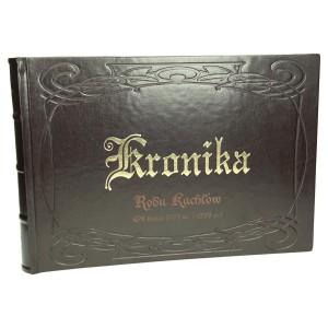 Kronika z grawerem dla rodu - rodzinna 1076_1 Kroniki, księgi