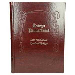 Księga ze złoconym napisem Gości izby historii 3002_1 Kroniki, księgi