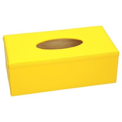 Pudełka na chusteczki oklejone eko skórą 1116