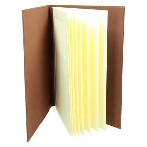 Karty menu z płótna dla kawiarni i restauracji - produkcja 1105_2
