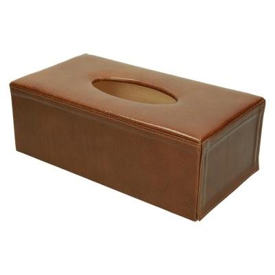 Pudełko na chusteczki ze skóry 1156