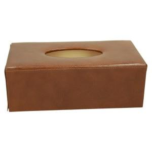 Chustecznik skórzany brązowy 1156_2