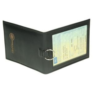 Etui z metalowym kółkiem na klucze 1129_1 Etui na karty magnetyczne
