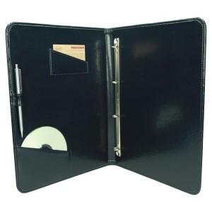 Kieszonki na CD i wizytówkę z eko skóry 1131_1 Do prezentacji - ofertówki