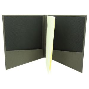 Kwadratowa okładka z materiału w prążki 1147_1 Informatory