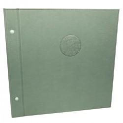Oprawa księgi w szary materiał poliuretanowy 1135 Księgi wpisów/rezerwacji