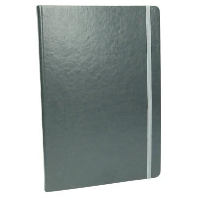 Notes z gumką w kolorze szarym 1194