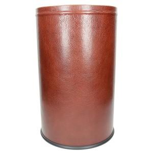 Pojemnik na śmieci obciągnięty skórą naturalną 1190_1