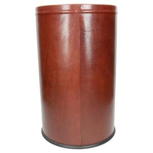 Pojemnik na śmieci obciągnięty skórą naturalną 1190_2