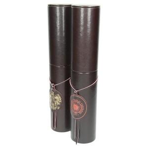 Tubus ze złoconym godłem i tubus z grawerem 1217_1